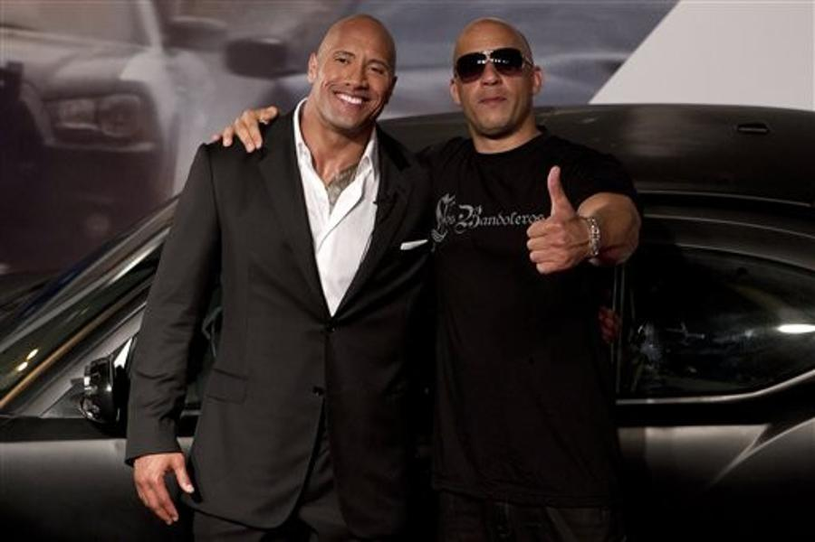 Vin Diesel, Dwayne Johnson - In Photos: Dwayne Johnson ...