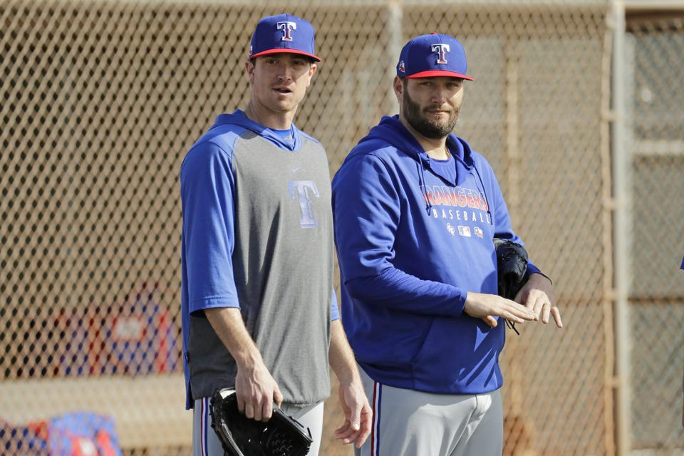 Rangers Spring Baseball