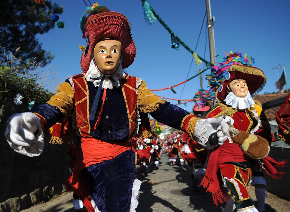 Parades to celebrate Portugal St. John Festiva in Porto.