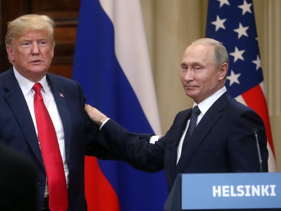 Vladimir Putin - Donald Trump press conference in Helsinki
