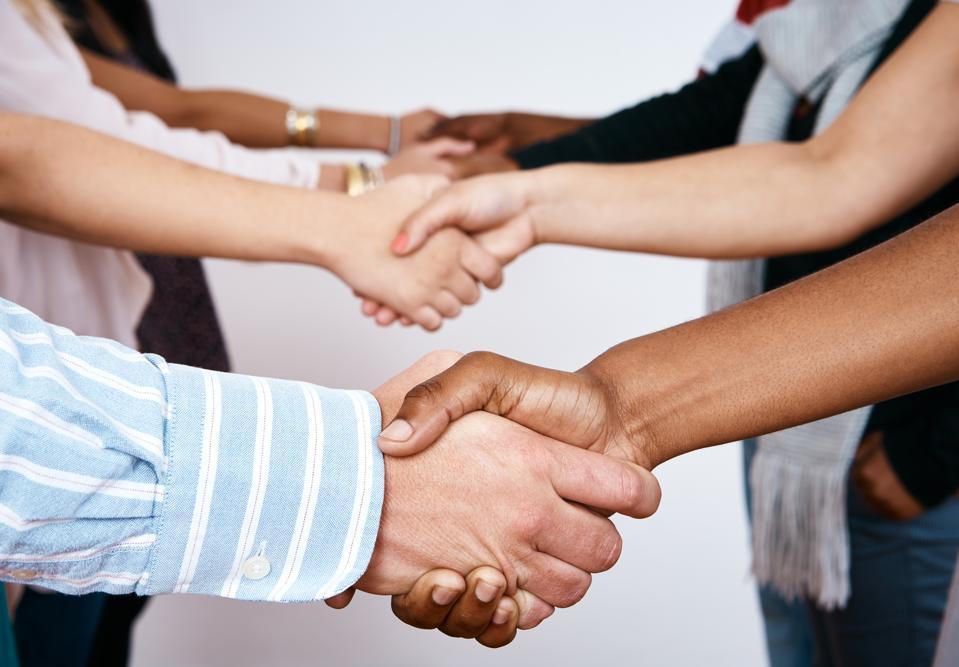 Handshakes round the world