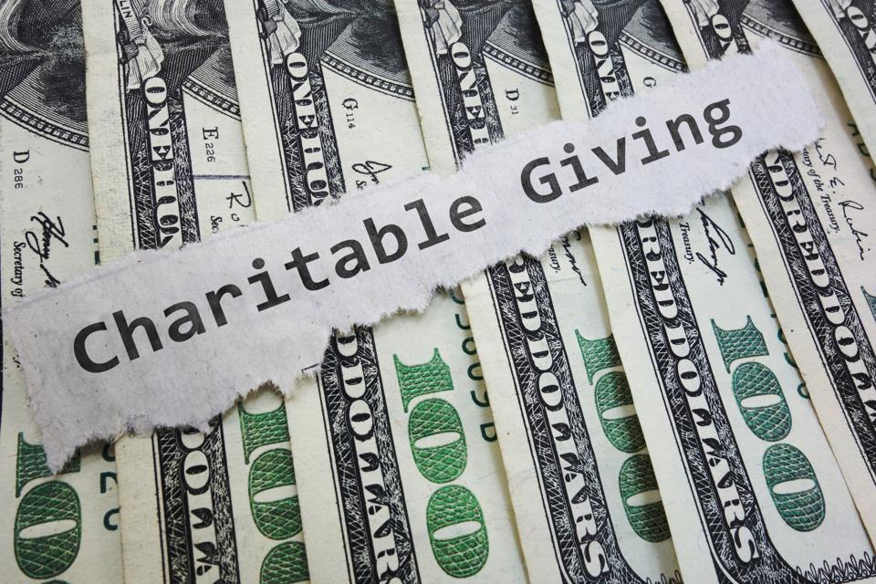 Charitable Contribution money