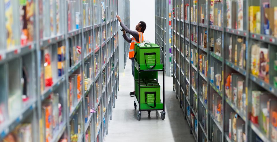 Grocery delivery service Amazon Fresh