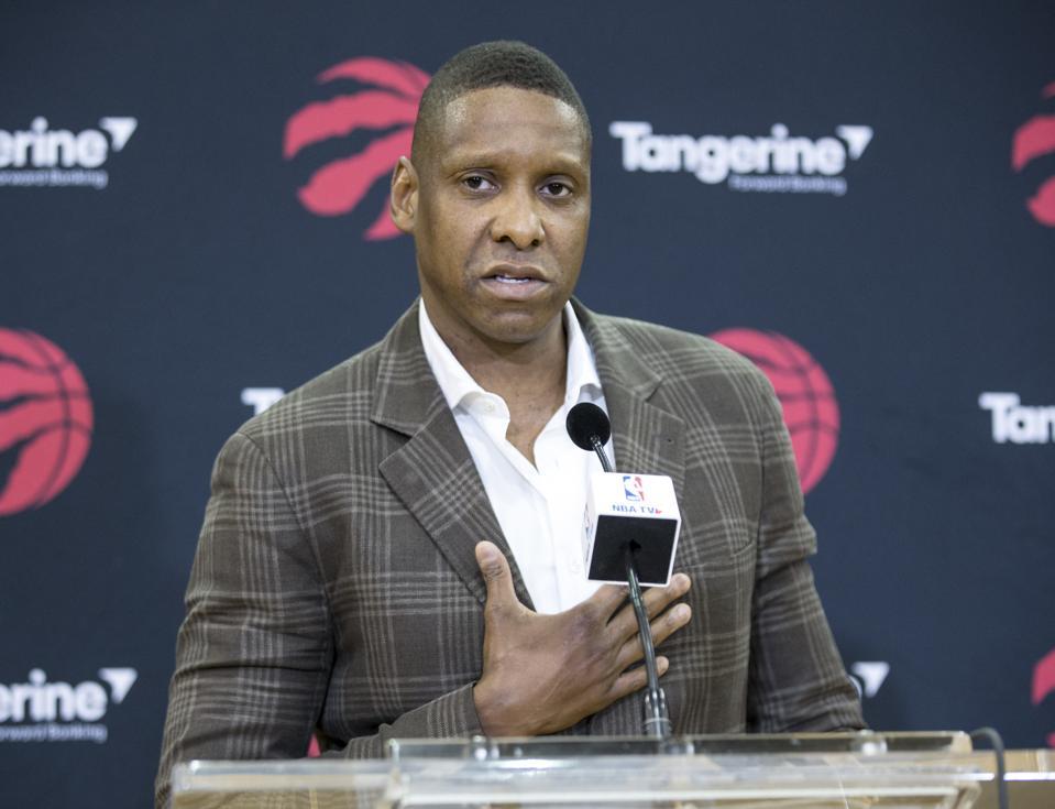 Report: Raptors' Masai Ujiri 'Intrigued' By Chance To Fix New York Knicks