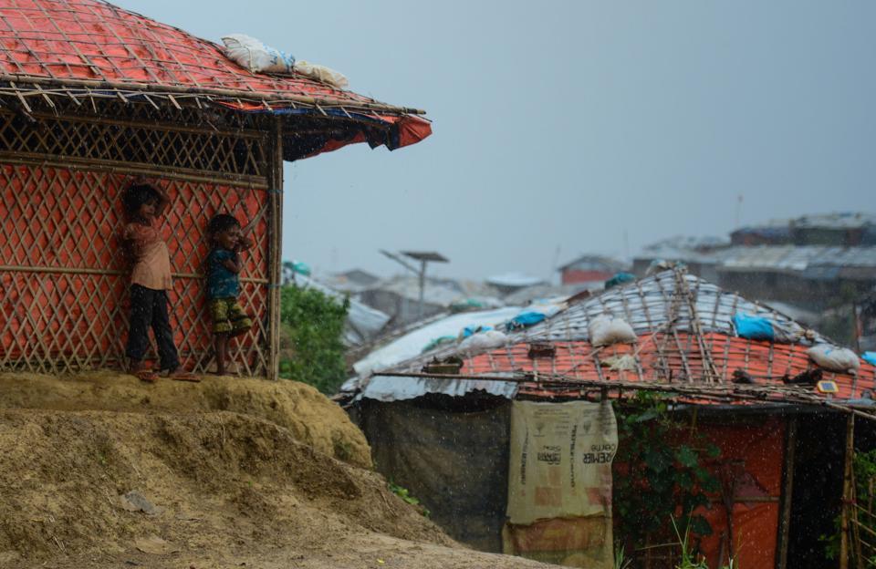 BANGLADESH-ROHINGYA-MYANMAR-REFUGEE-MONSOON