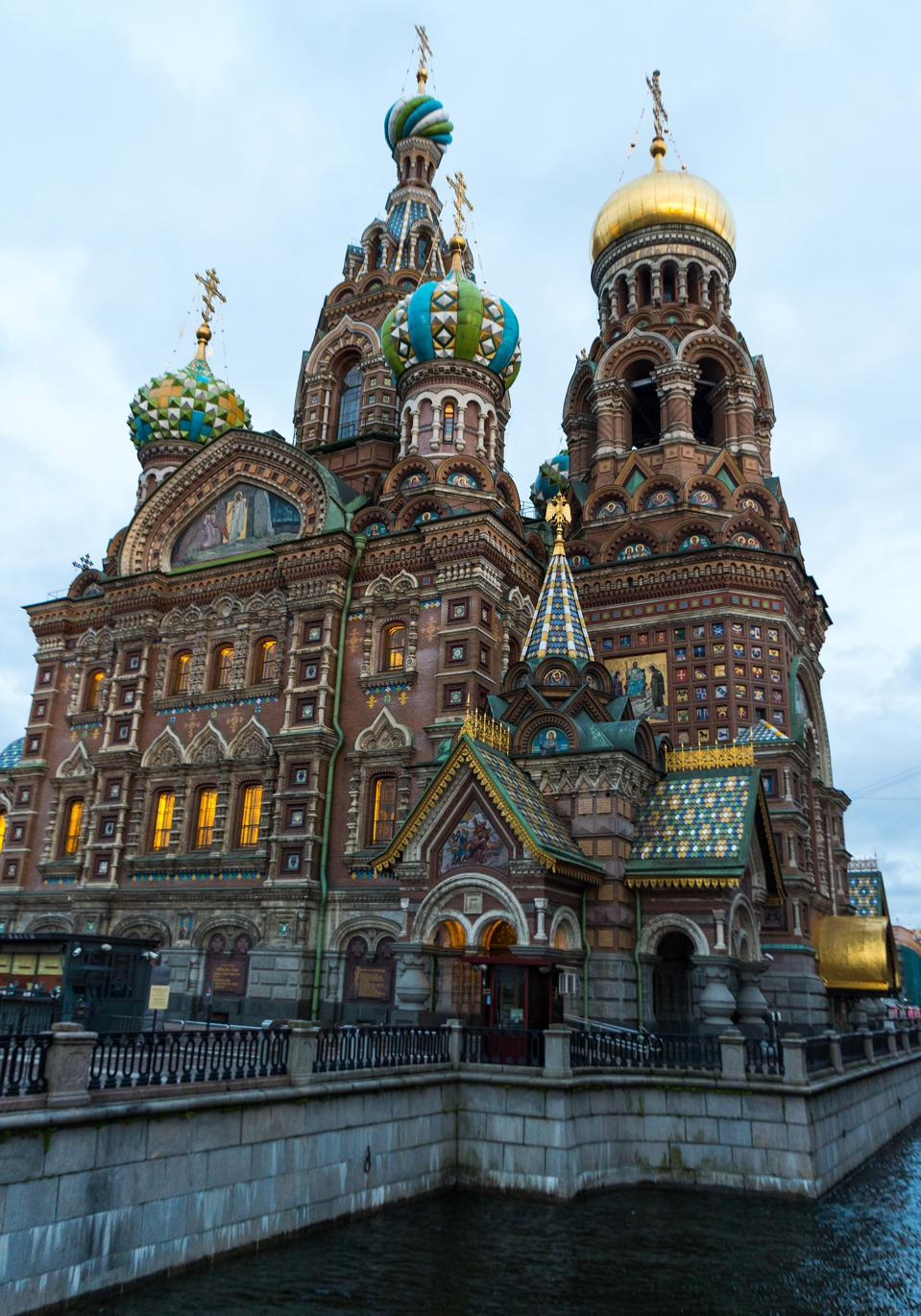 Church of the Savior on Blood in Saint Petersburg