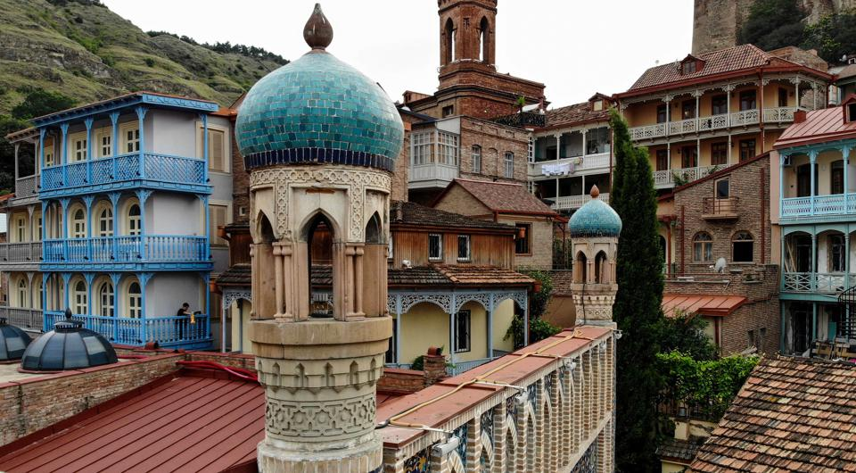 Tbilisi GEORGIA-ARCHITECTURE-TOURISM