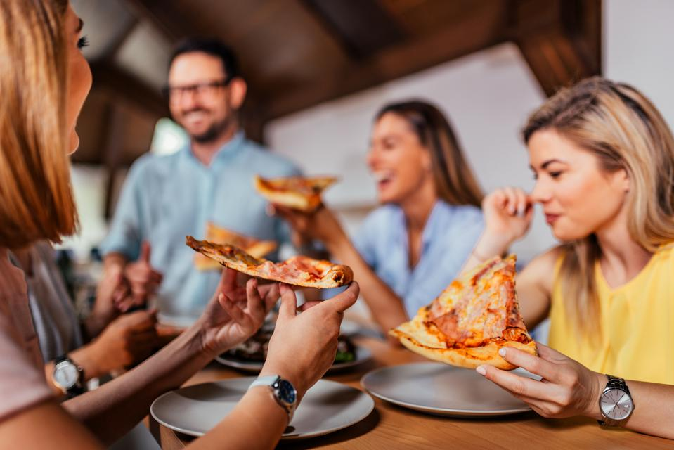 If you want to celebrate with food, it can be as simple as a pizza party after work – or maybe have a food truck show up at lunch.