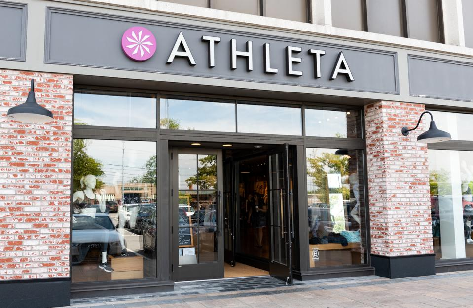 Athleta store in Scarsdale, New York...