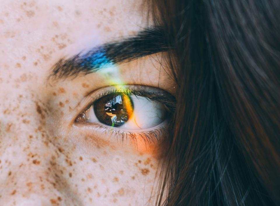 Cropped Image Of Young Woman Eye