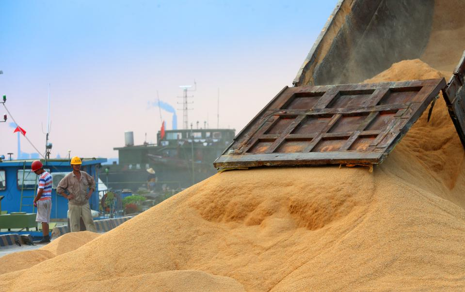 Agricultural Imports In Nantong, China