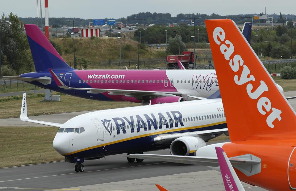 RyanAir Pilots Go On Strike Across Europe