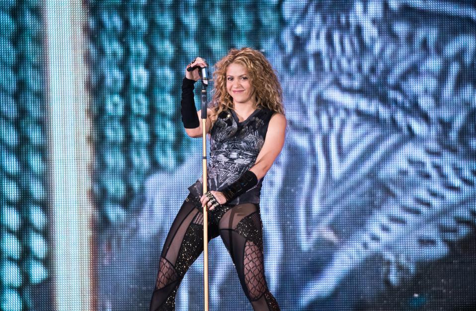 Shakira In Concert - New York City