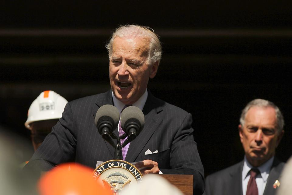Vice President Biden Holds Recovery Act Event In New York City