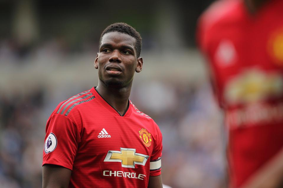 Manchester United star Paul Pogba