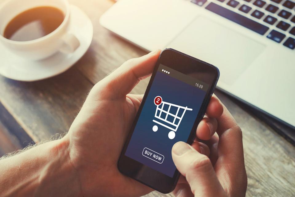 nakupovanje preko spleta v spletni trgovini