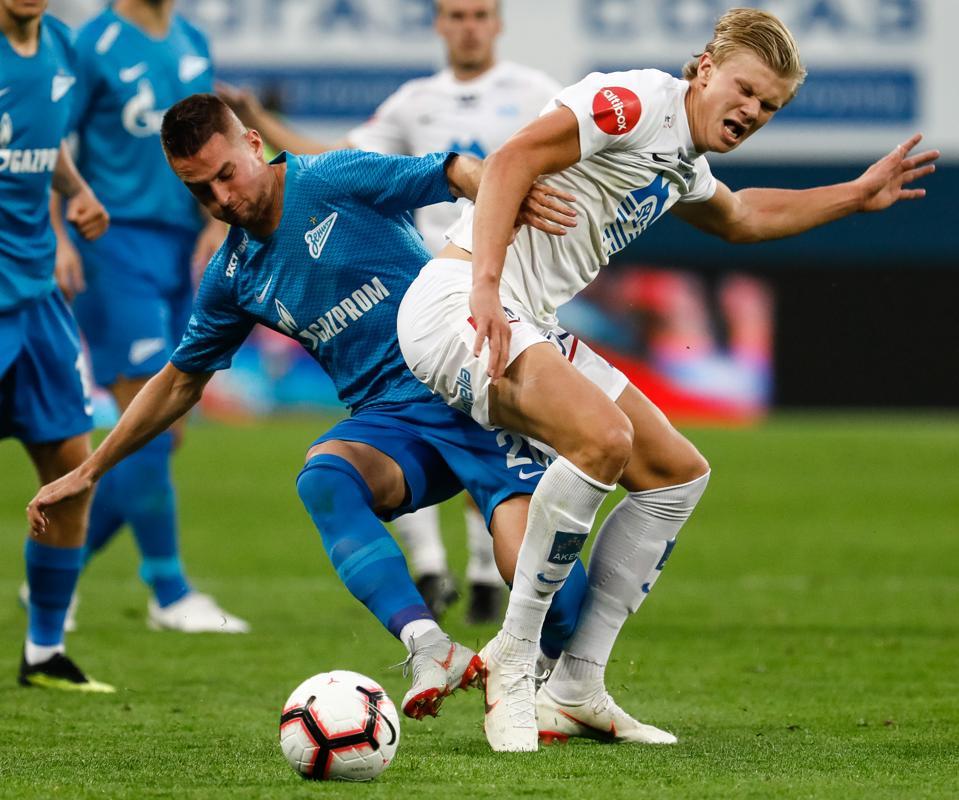 Zenit Saint Petersburg v Molde FK - UEFA Europa League: Play-offs