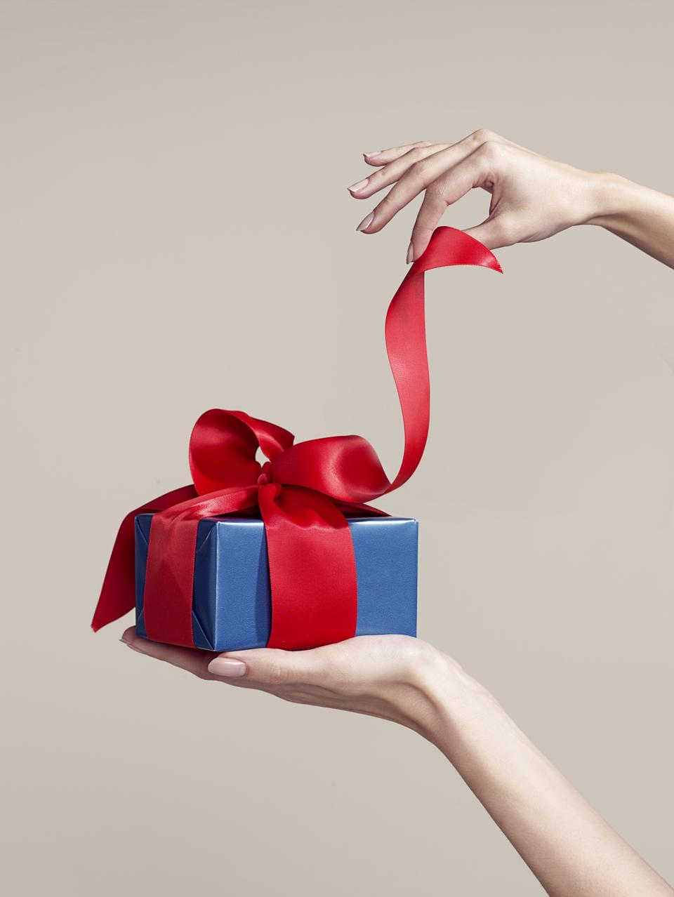 Gifts have to be reported on Gift tax returns which are complicated!