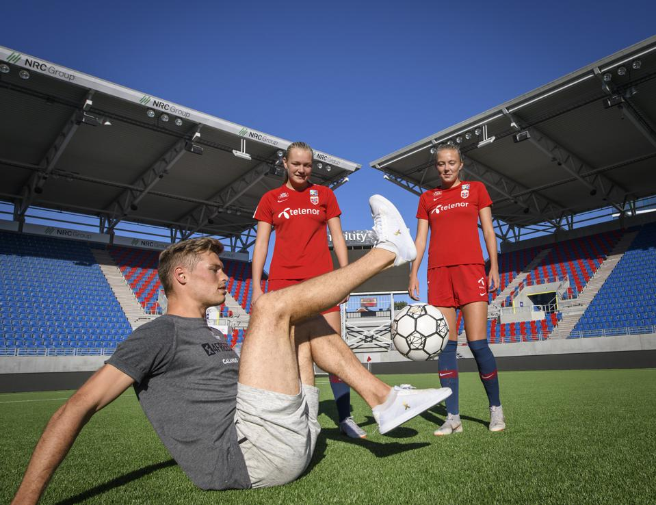 Norway Women's Training Session and Press Conference