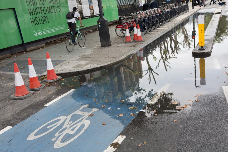 Cycling Superhighway Under Water