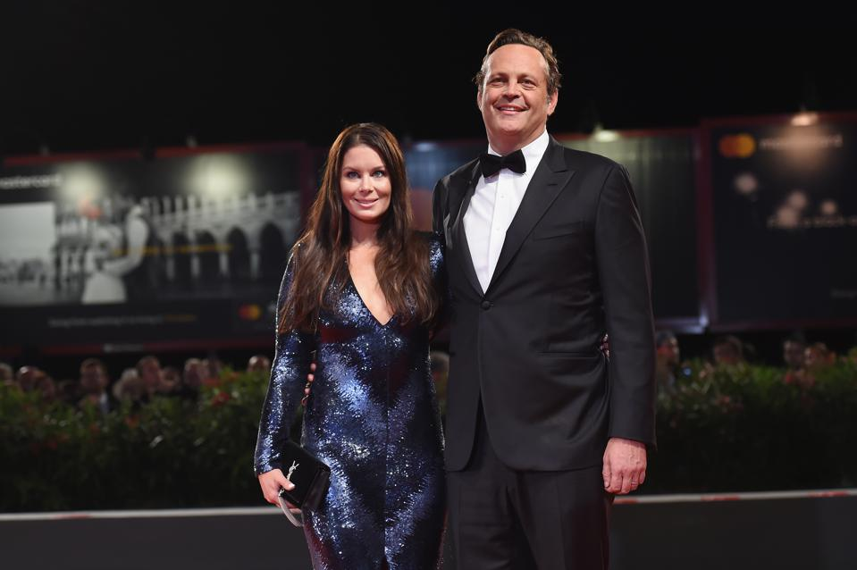 Venice, Baby: Vince Vaughn and his wife, Kyla Webb, at the premiere of his film 'Dragged Across Concrete.'