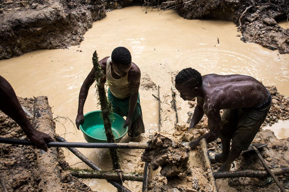 DR CONGO-GOLD-MINING