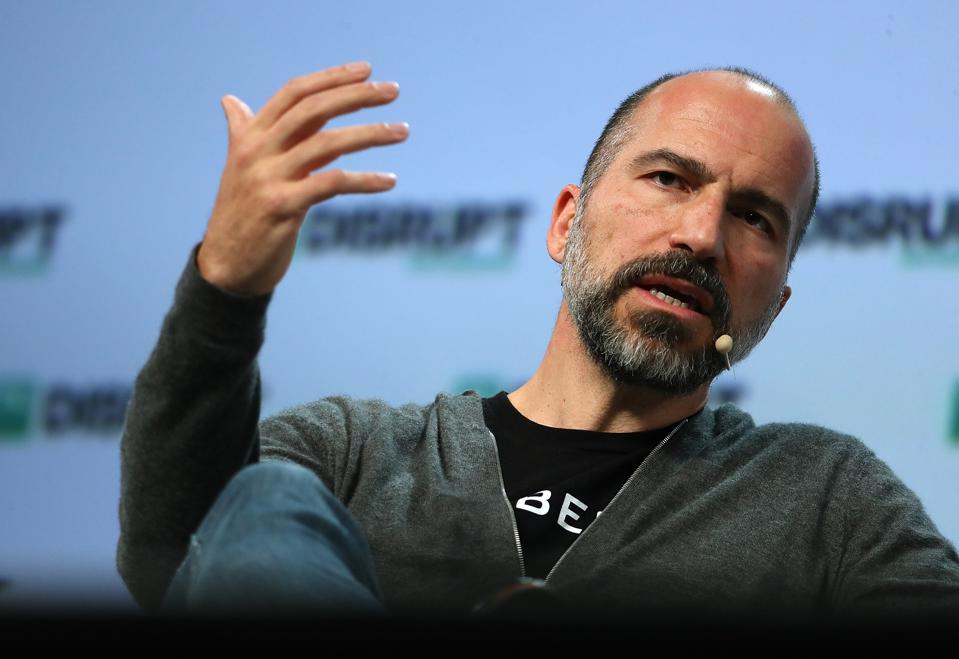 CEO of Uber Dara Khosrowshahi Addresses The TechCrunch Distrupt Conference