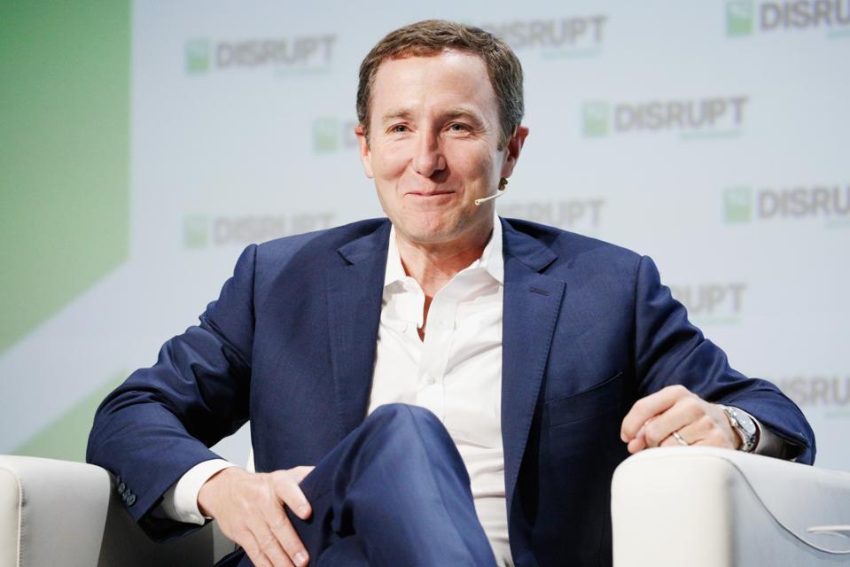 CEO and cofounder John Foley