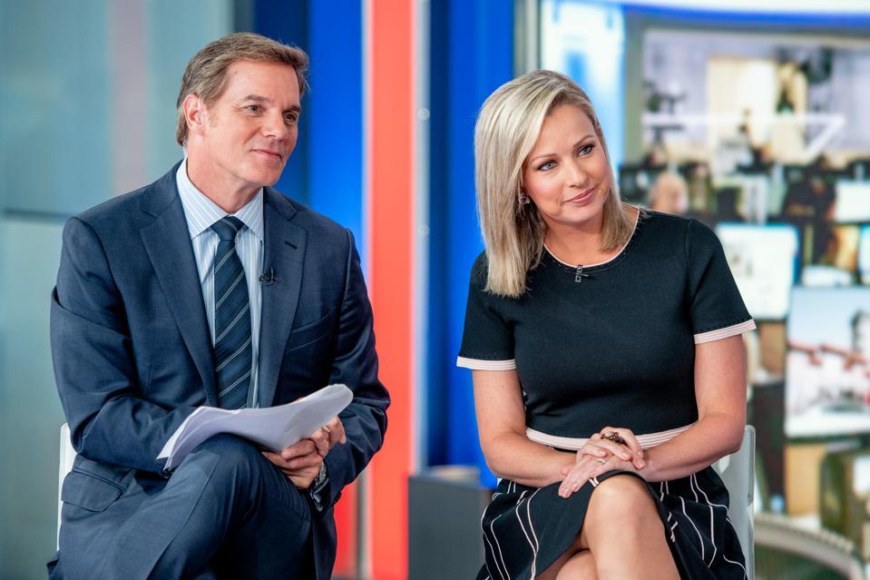 Jill Biden Visits ″America's Newsroom″