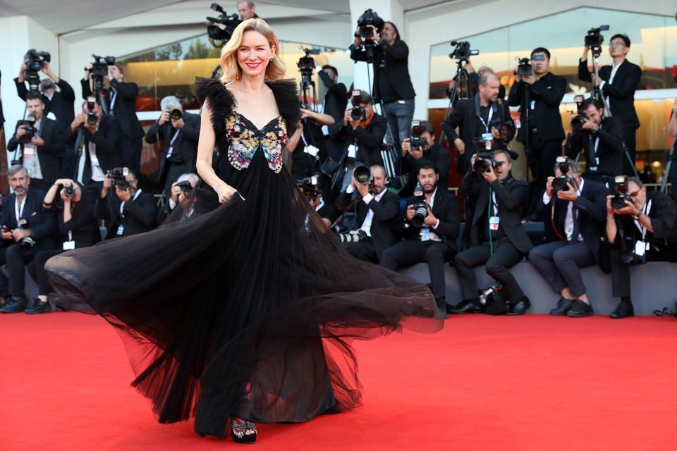 Award Ceremony Red Carpet Arrivals - 75th Venice Film Festival