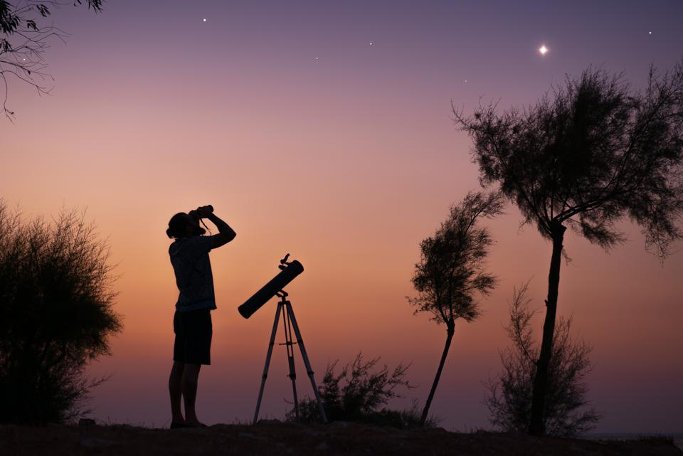 All you need is a pair of binoculars to see any of the sights in this week's night sky round-up.