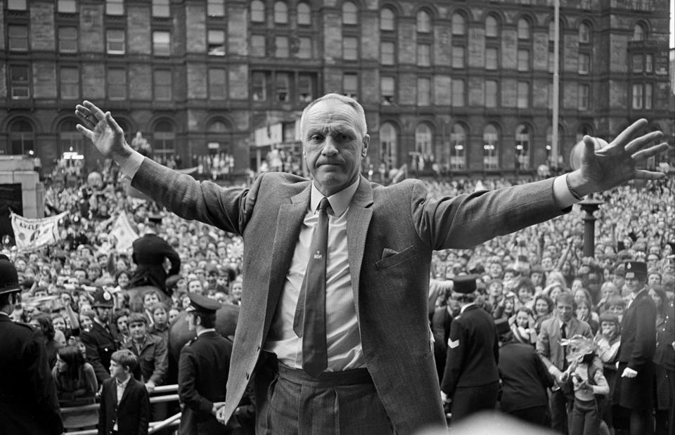 1971: Bill Shankly On St George's Plateau