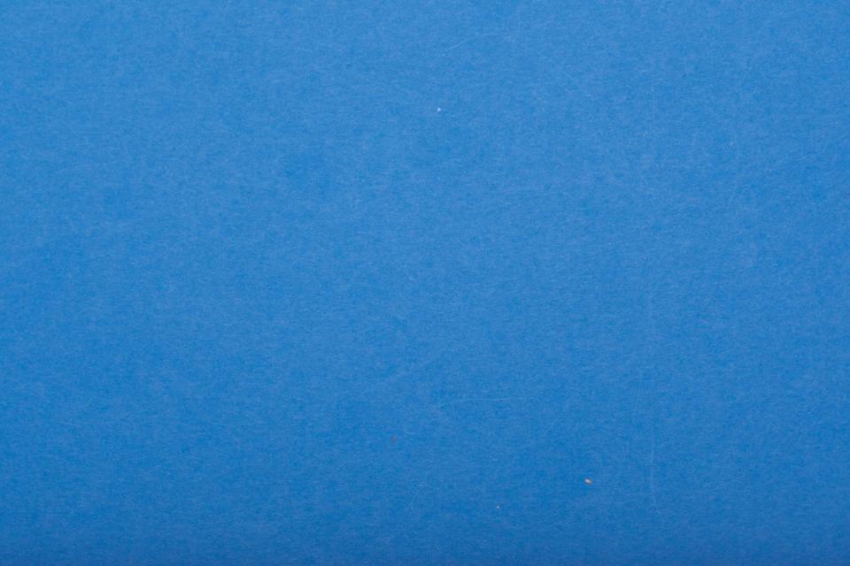 Detail Shot Of Blue Paper