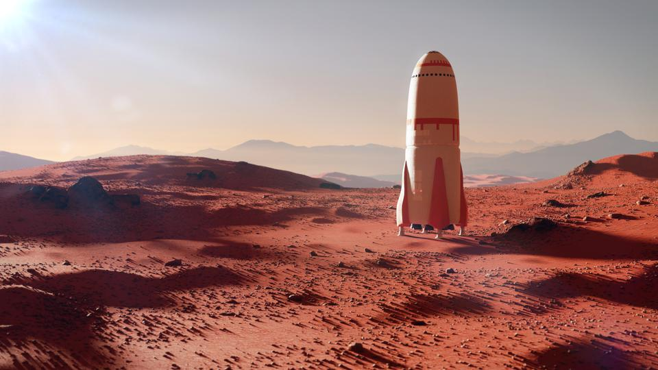 Developing a vehicle that can both land and relaunch from Mars could take several decades to perfect.