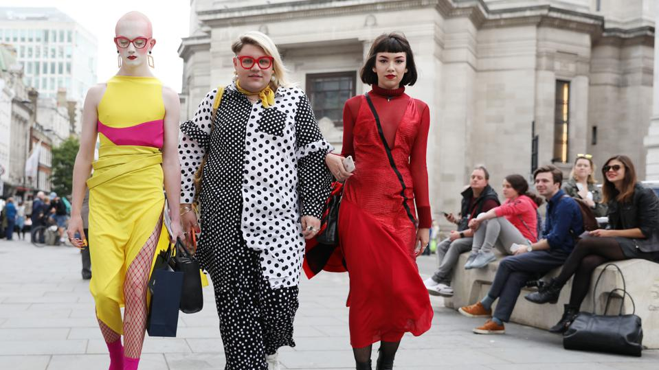 Street Style - London Fashion Week September 2018