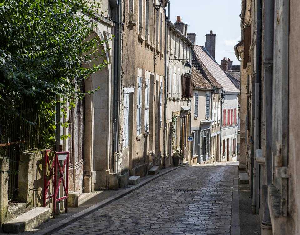 Street in Sancerre Cher