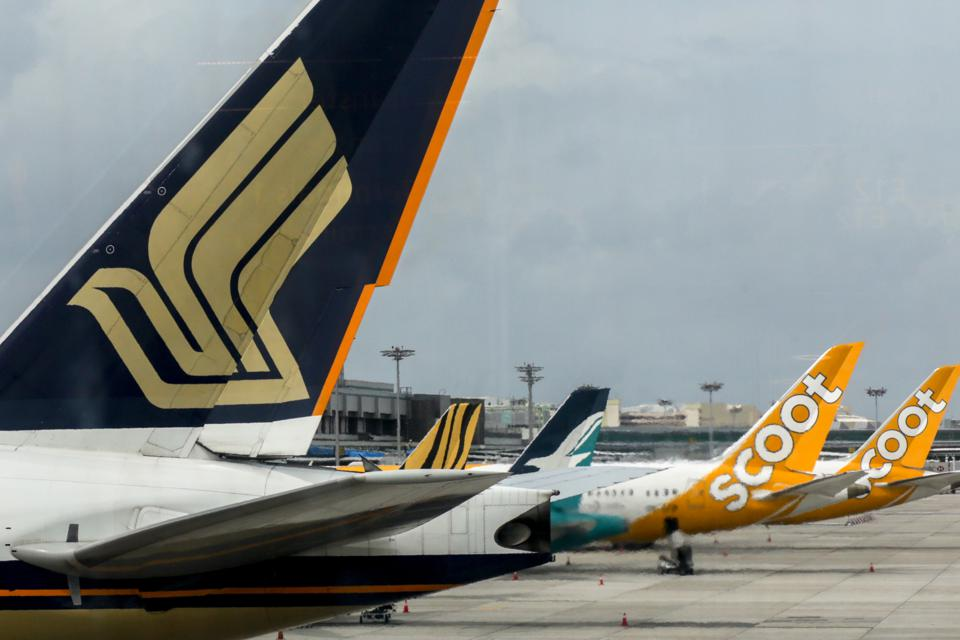 Civil jet airplanes of Singapore Airlines and its subsidiaries