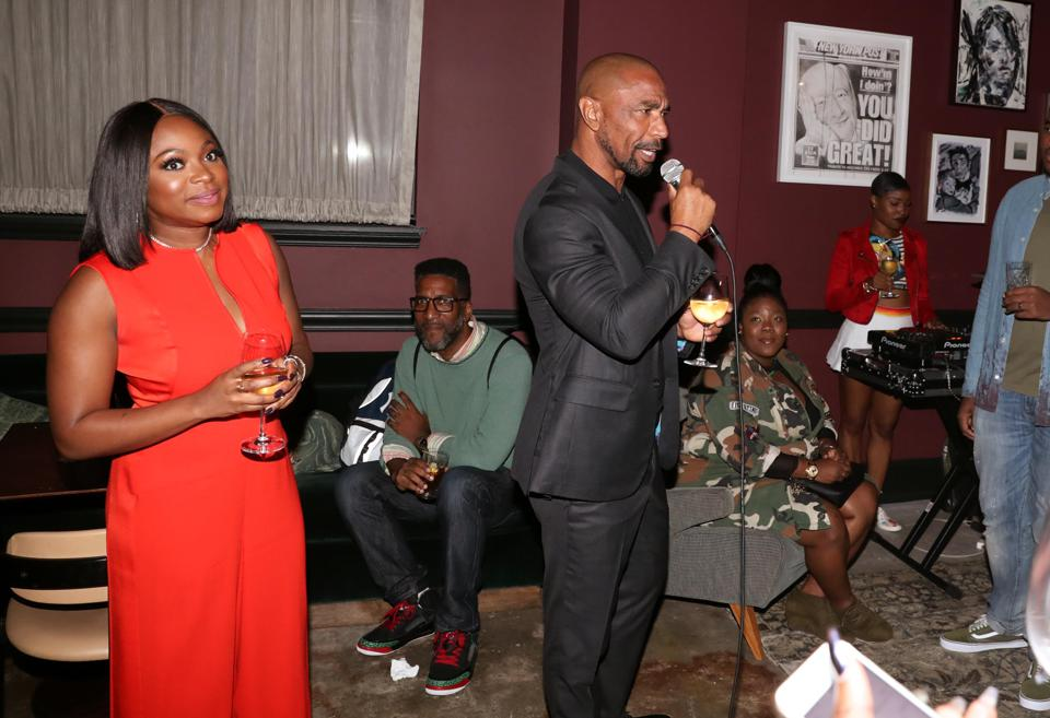 Reign Presents Black Creators Unite Celebration Quincy Newell Naturi Naughton