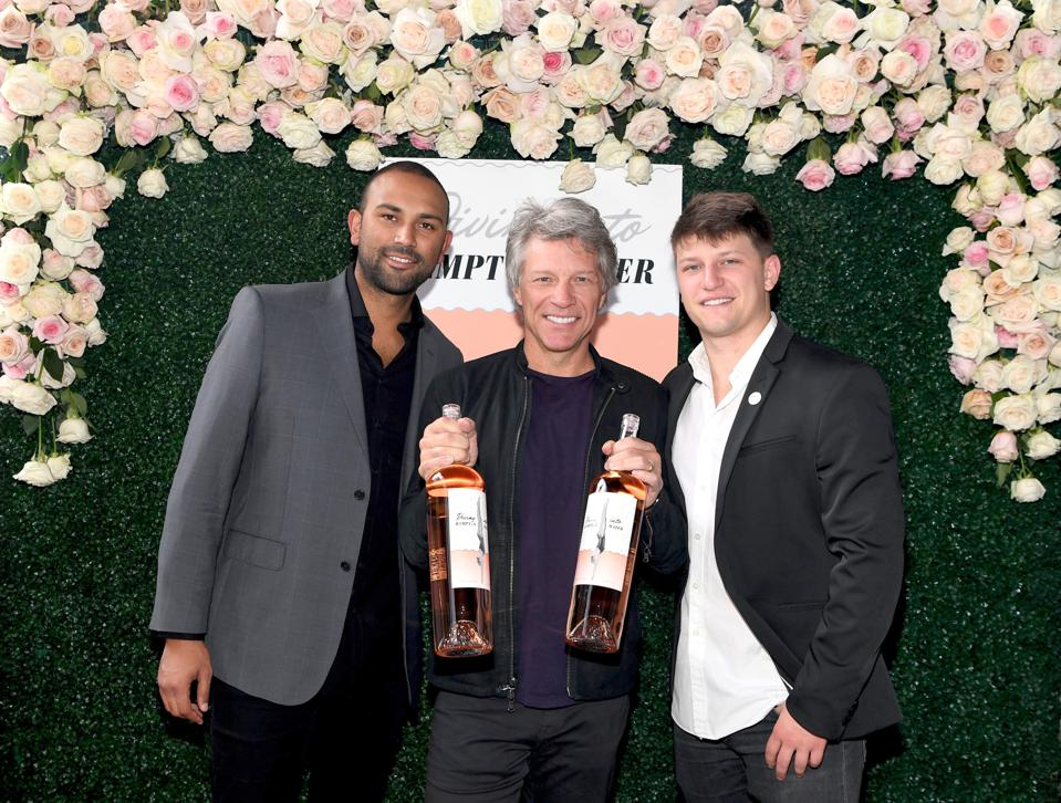 Scotch 80 Prime at Palms Casinos Hosts ″Diving Into Hampton Water″ Rose Brunch with Jon Bon Jovi