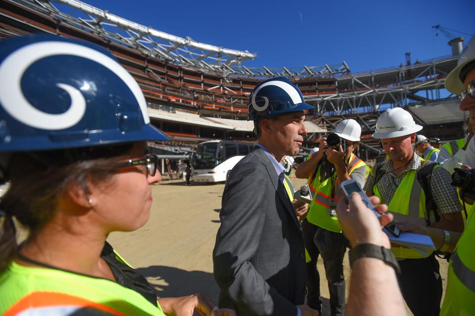 Construction At New Los Angeles Stadium Is On Track For 2020 NFL Season