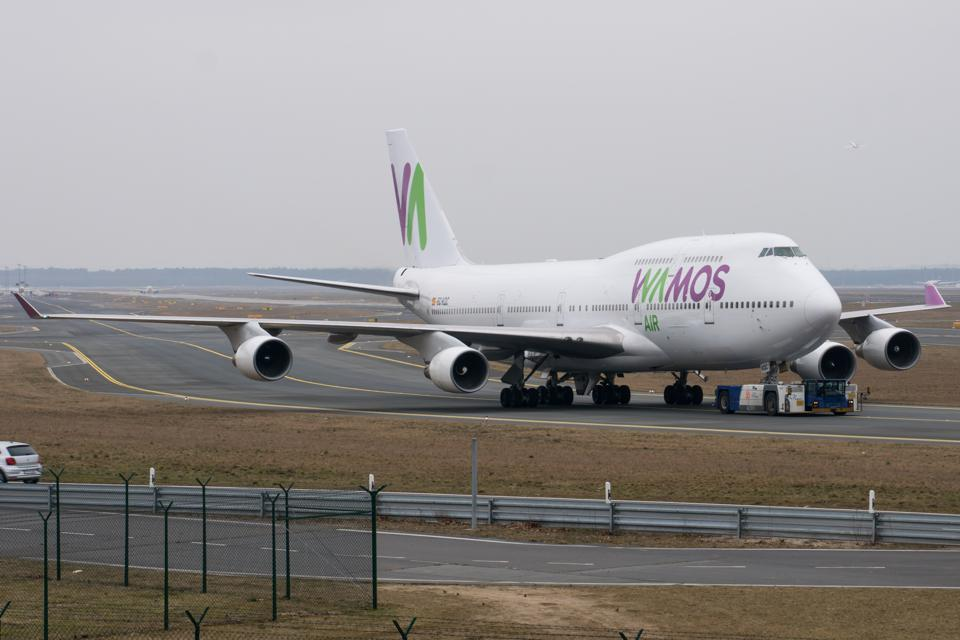 EDDF Picture: EC-KQC Wamos Air Boeing 747-412