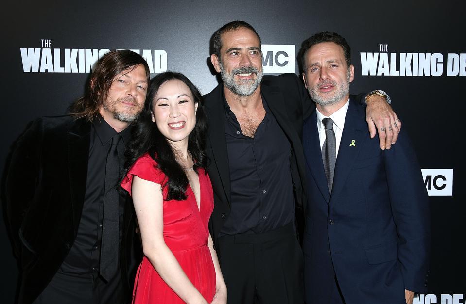 Premiere Of AMC's 'The Walking Dead' Season 9 - Arrivals
