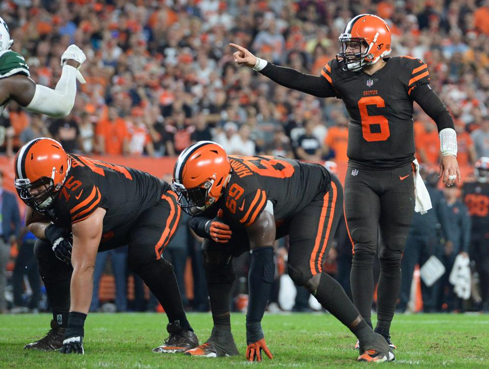 cleveland browns home jersey color