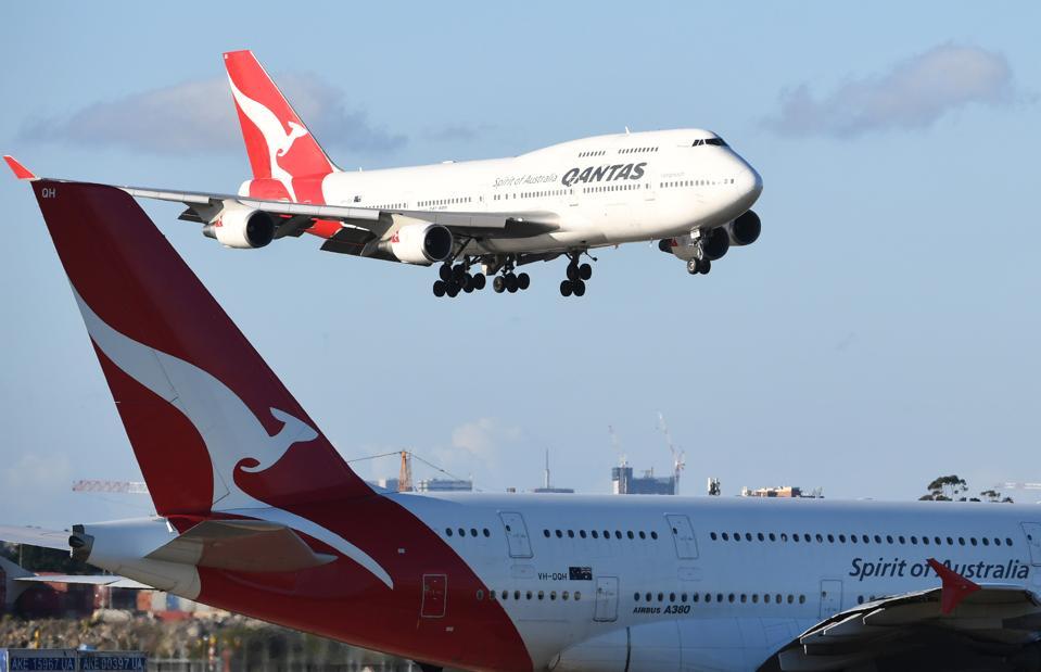 Qantas Makes Its Last US 747 Flight Out Of San Francisco