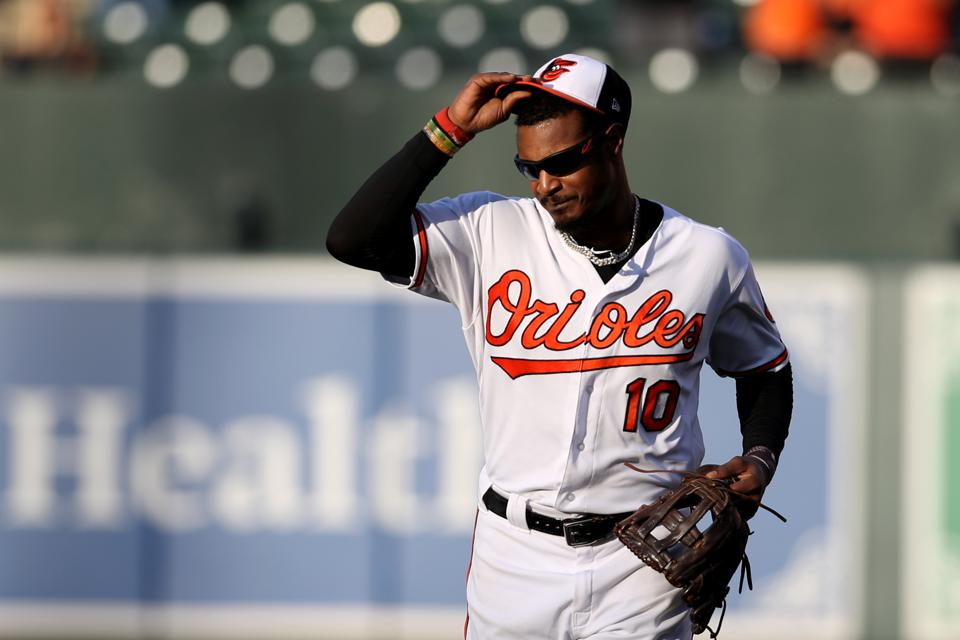 Adam Jones on September 30.