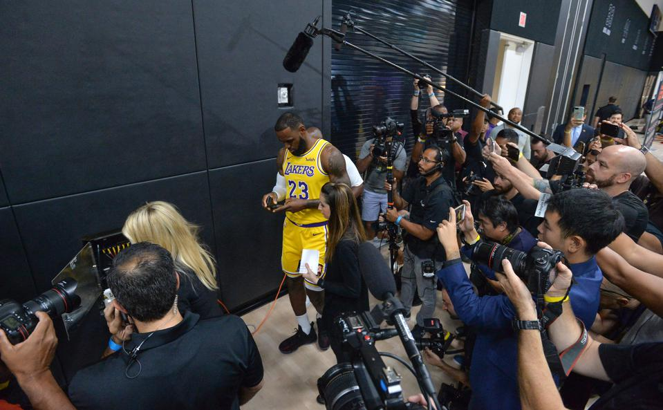 LeBron James's 54 Million Instagram Followers Get A 'Master Class' In Authentic Leadership