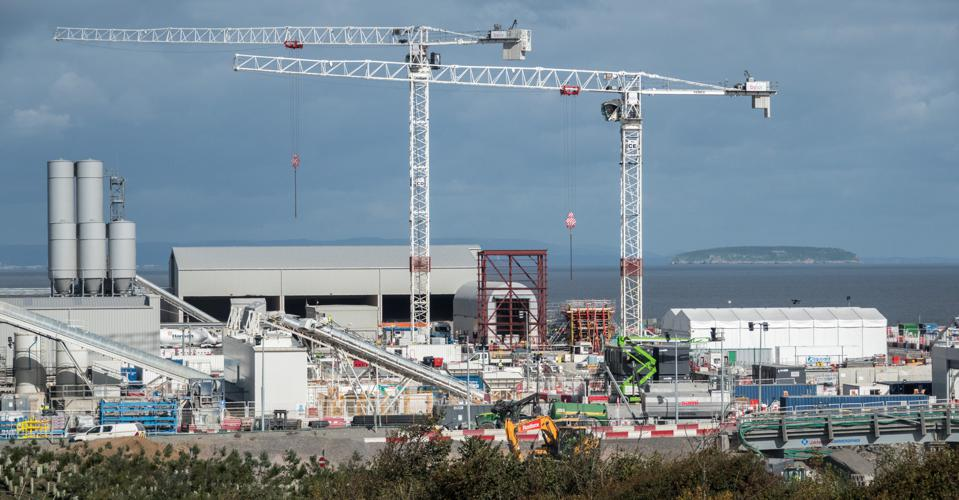 Hinkley Point C Nuclear Power Station Continues At Pace