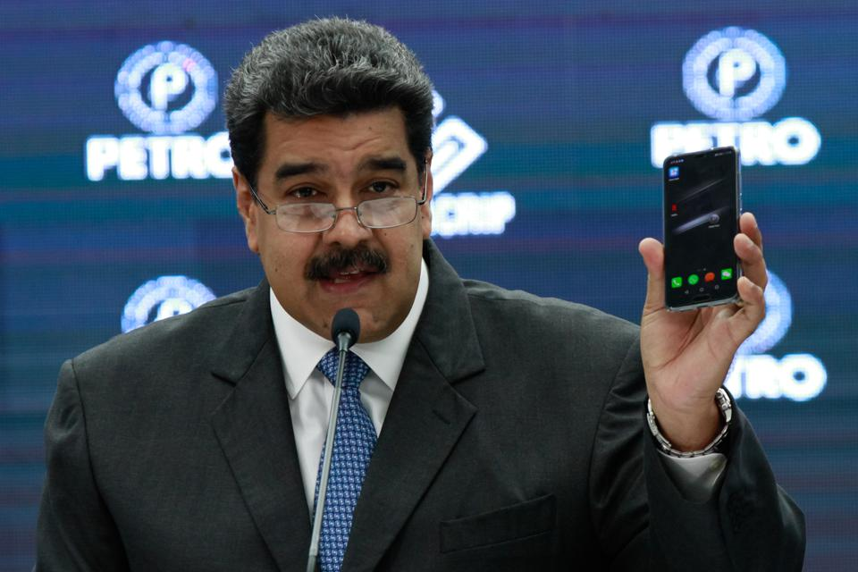 Venezuela announces blockchain of crypto