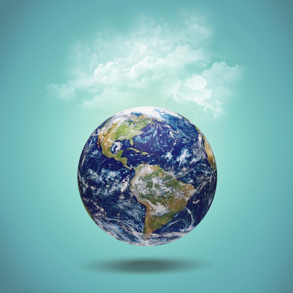 Earth. Positive-sum world. International collaboration.
