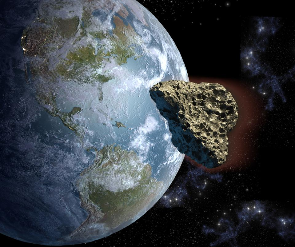 Earth 'Will Be Hit' By An Asteroid, Just Not The Huge Pair ...